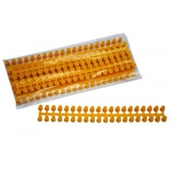 Plastic frame spacers, 200 pcs